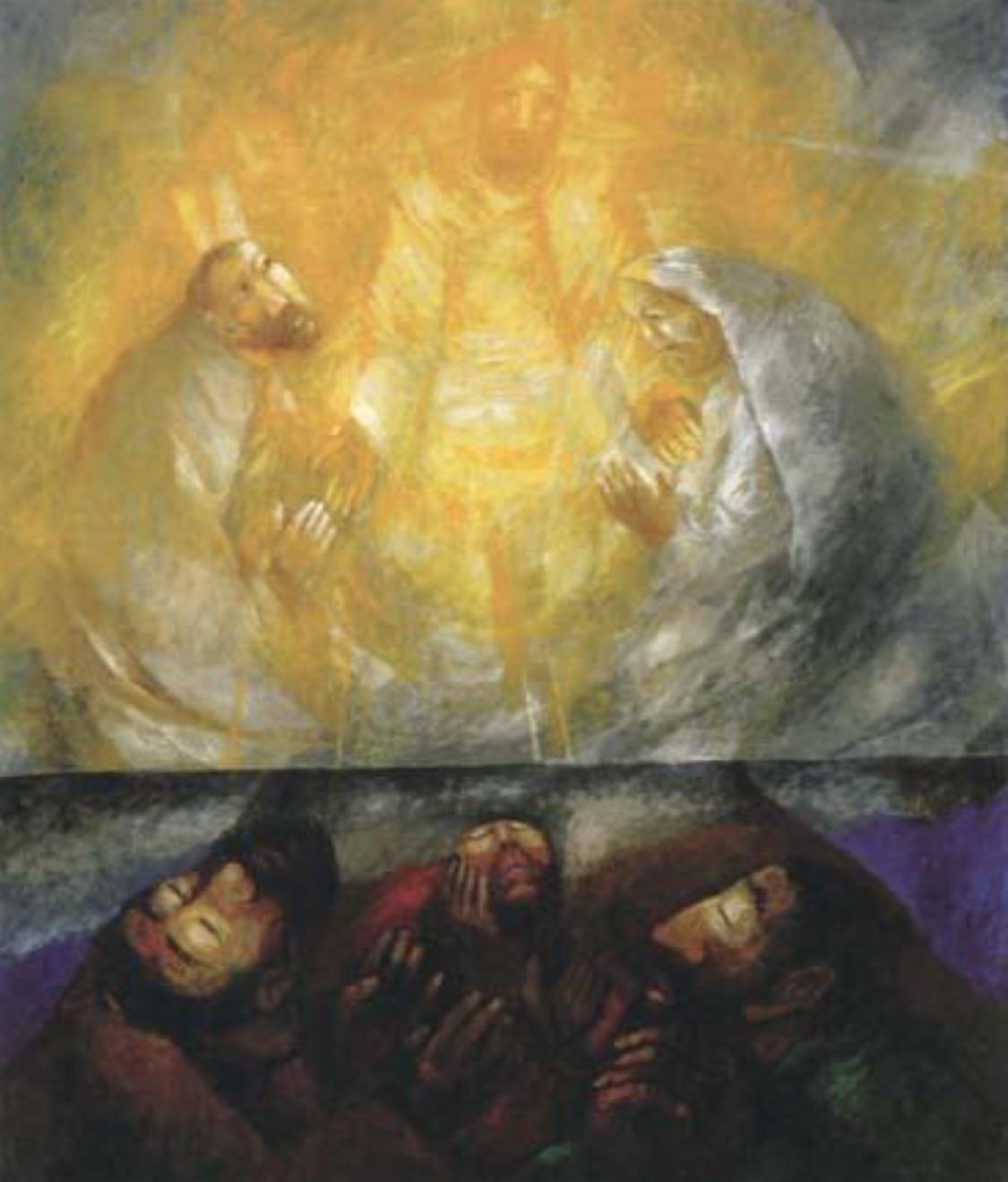 Sieger Koder: The transfiguration